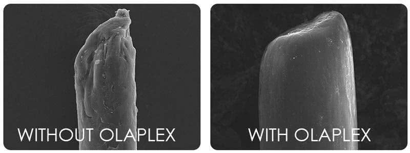 Olaplex hair strands