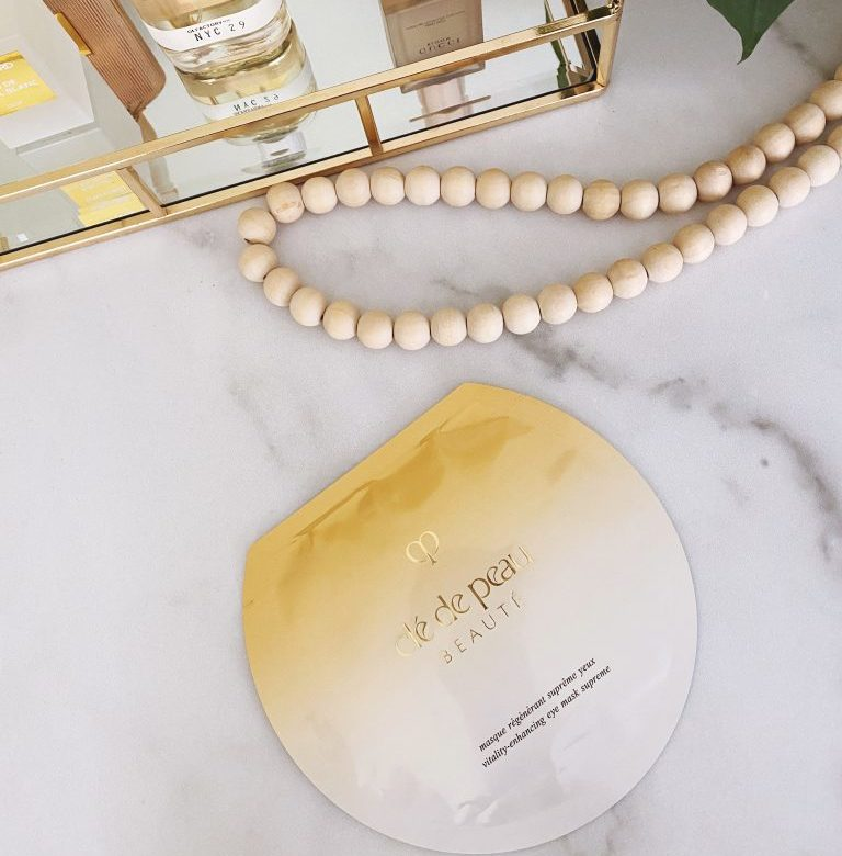 REVIEW: $150 Eye Mask by Clé de Peau Beauté