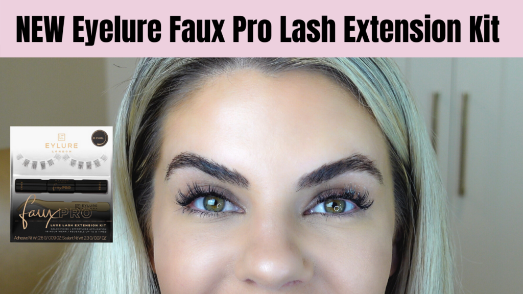 I tried Eyelure's new Faux Pro Lash Kit- here's what I think