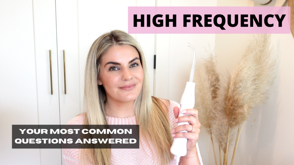 Everything You Need To Know About The High Frequency Facial Wand